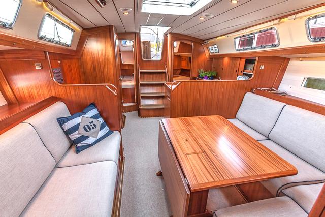 Hallberg Rassy 412 Test Big Steps Forward Boats Com