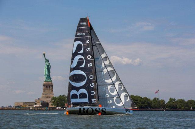 Alex Thomson sets off on Transatlantic record attempt