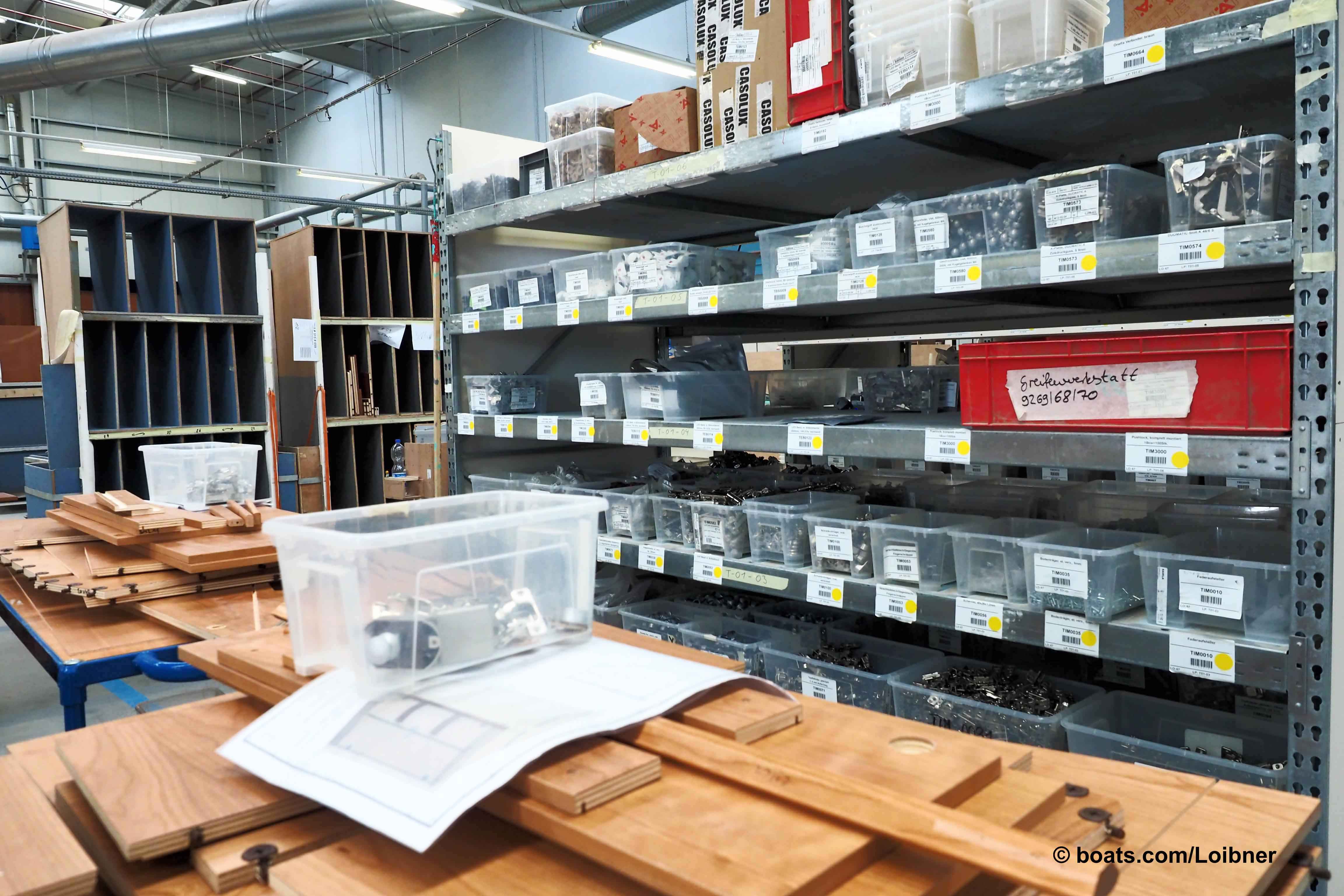 Lean manufacturing Hanseyachts