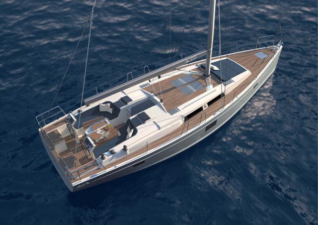 Hanse_455: new yachts at London Boat Show 2015