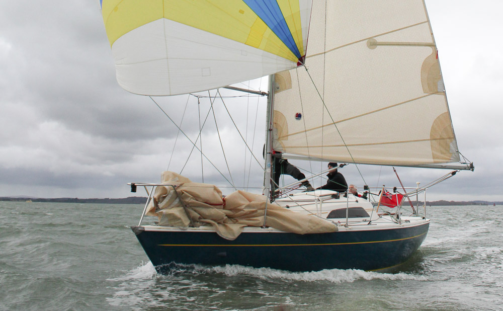 Racing yachts; Hunter Impala