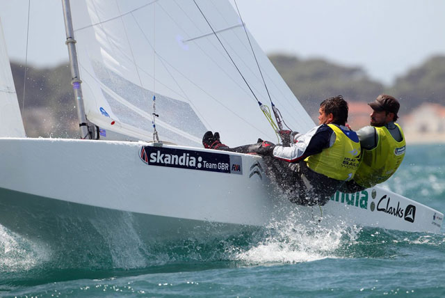 Gold medals for GBR Star and Sonar crews in Hyeres