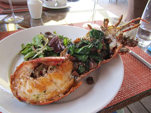 Nonsuch bay lobster