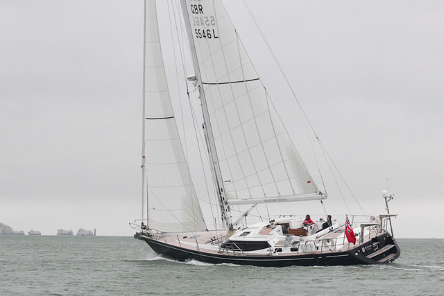 Blue-water sailing – Discovery 55 MkII