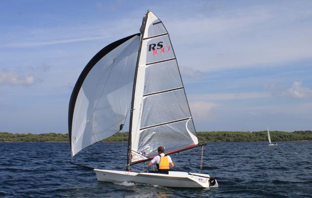 RS100 downwind