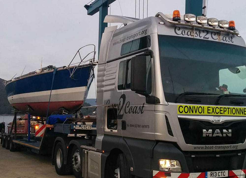 Boat transport: professional haulage companies are experienced in towing craft of much larger sizes than you might think.