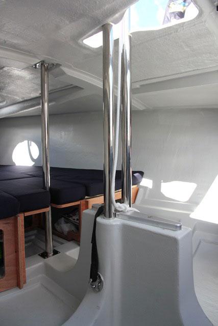 Bavaria B/One below decks