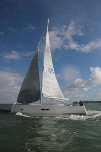 Grand Soleil 43 under sail