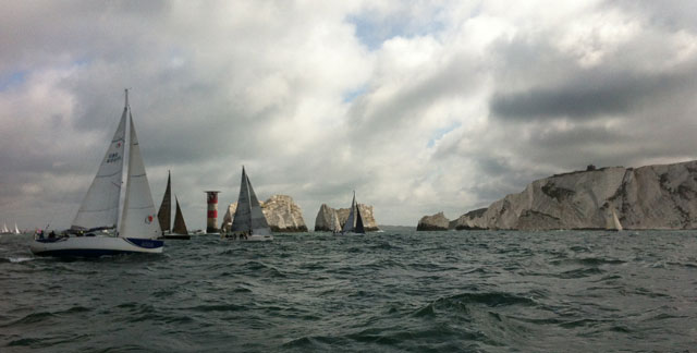 Round the Island 2012 on board Dark Star