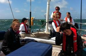 Onboard Dark Star Round the Island Race 2012