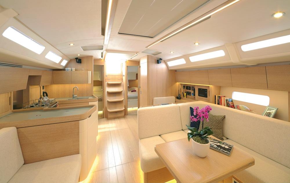 Design Unlimited has produced a warm, comfortable interior.
