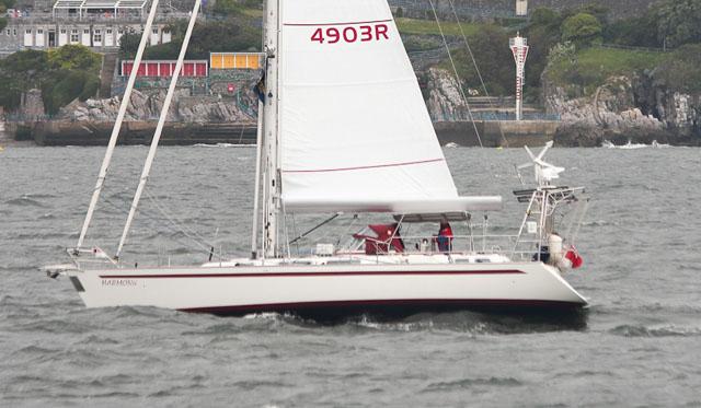 Najad 490 - centre cockpit cruising yachts