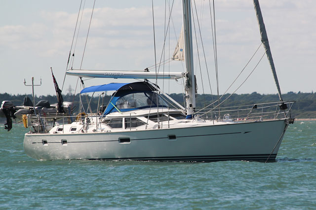 Oyster 49: centre cockpit cruising yachts