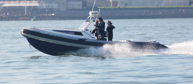 High performance RIB: which is the best antifouling?