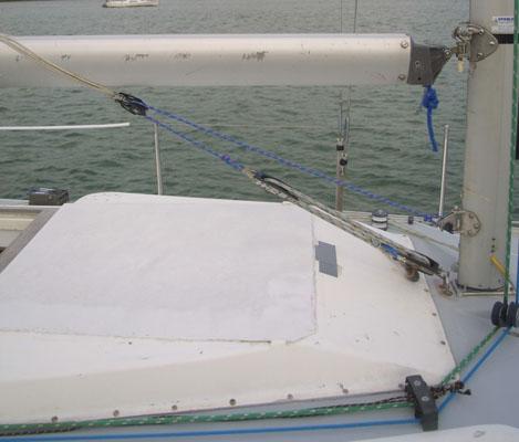 Easier sail handling: Cascade system
