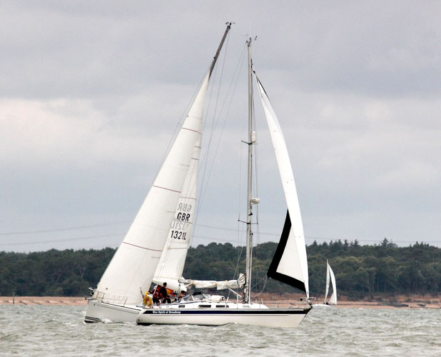 Steering in strong breezes: upwind or downwind option