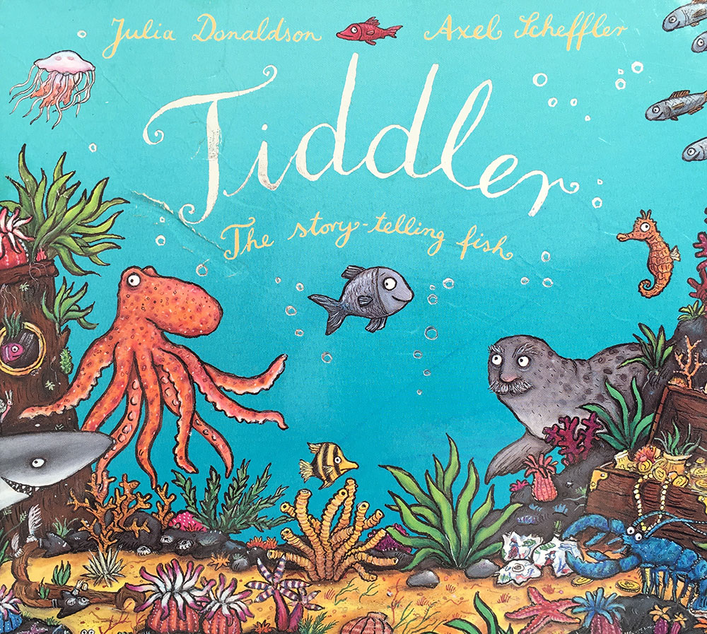 Tiddler the story telling fish