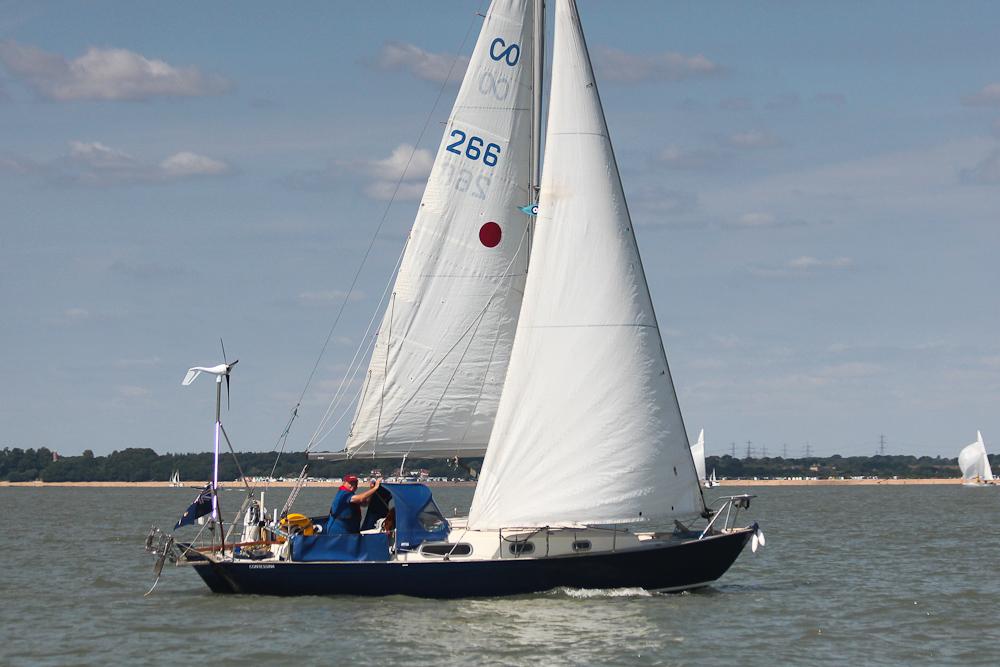 Contessa 26 classic boat