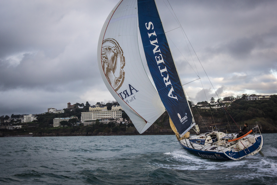 Beneteau Figaro – Artemis Offshore Academy, Torbay 2015