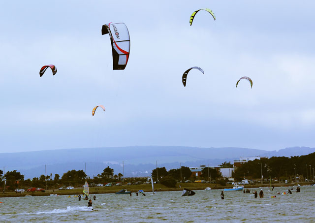 Kitesurfing safety in Poole Harbour a concern for commissioners