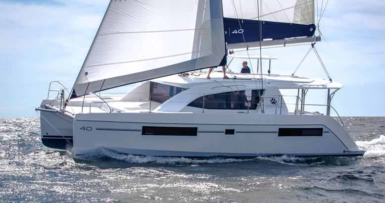 Leopard 40: top charter yachts