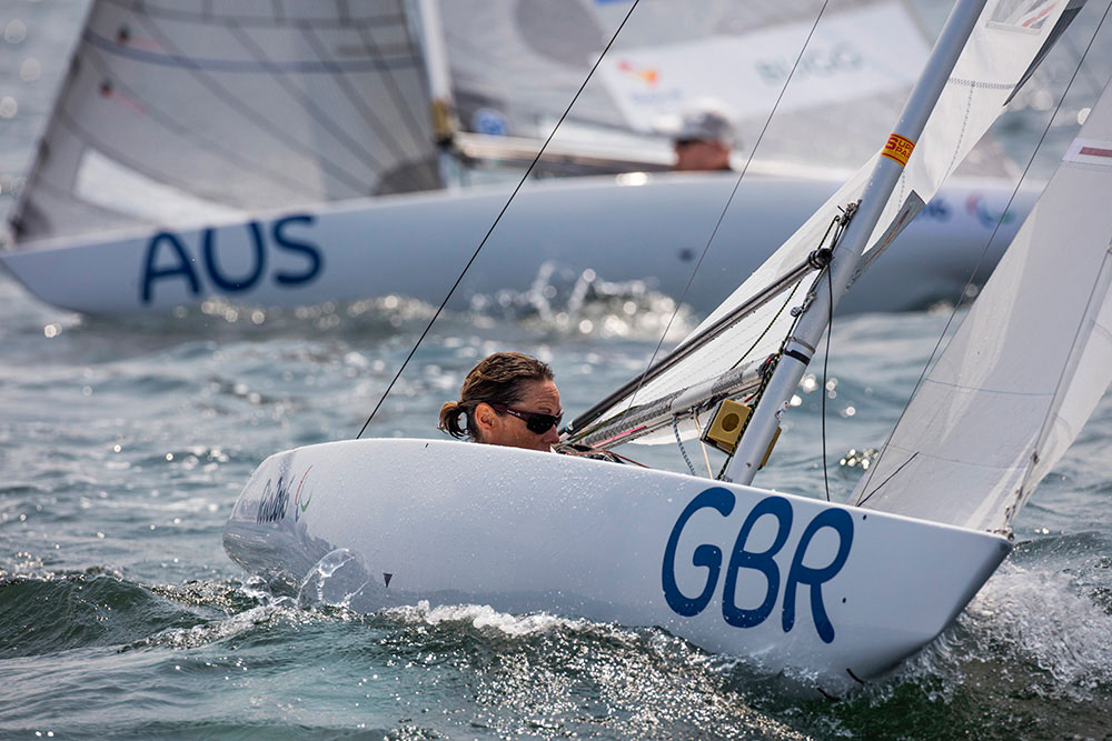 2016 Paralympic Sailing: double bronze in Rio