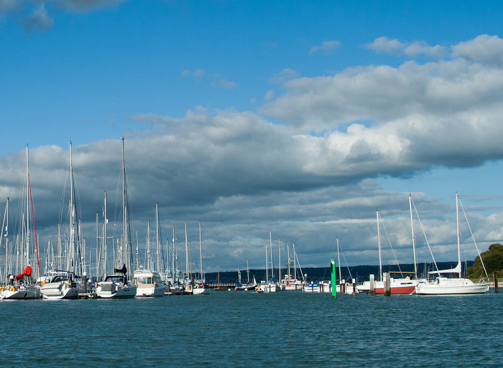 Budget for the cost of a mooring