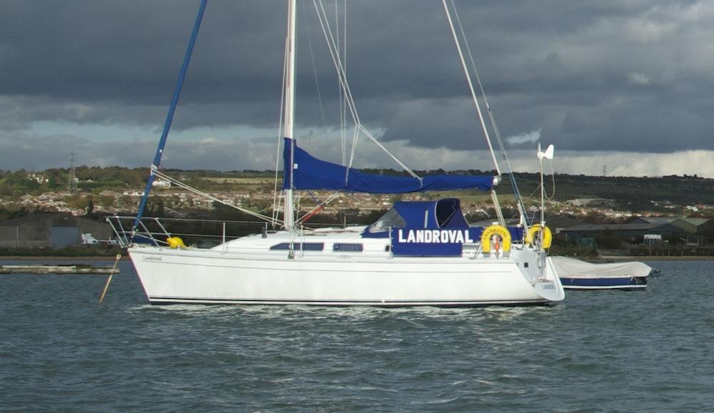 Hunter Channel 31 – short-handed sailing