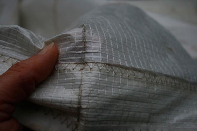 Laying up: Sail repairs