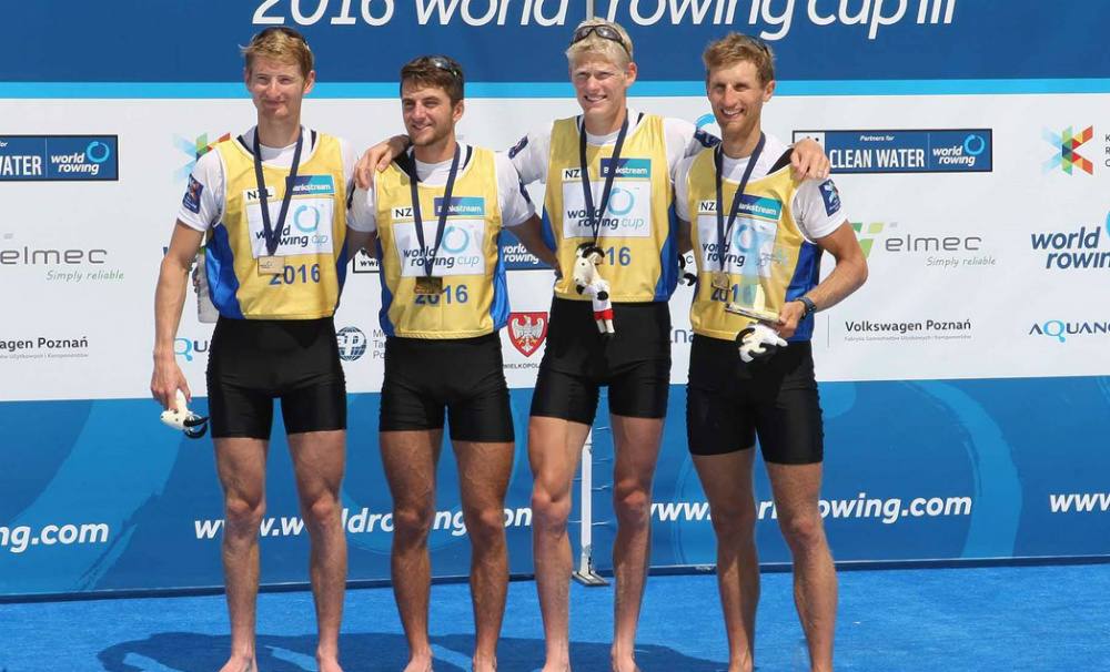 Olympic rowing: New Zealand's lightweight men's four