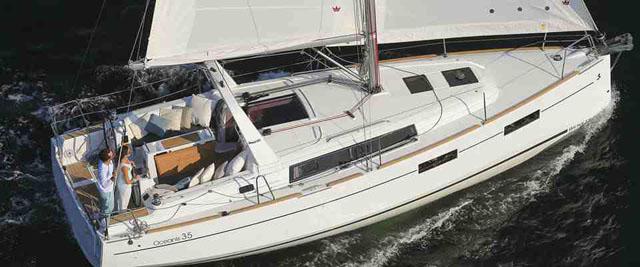 Beneteau Oceanis 35: Hot yachts at Southampton