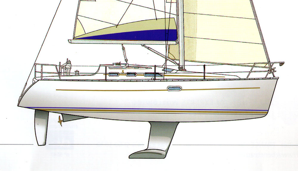 Stepped coachroof – Beneteau Oceanis 323 review