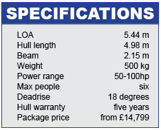 Olympic 500 specifications
