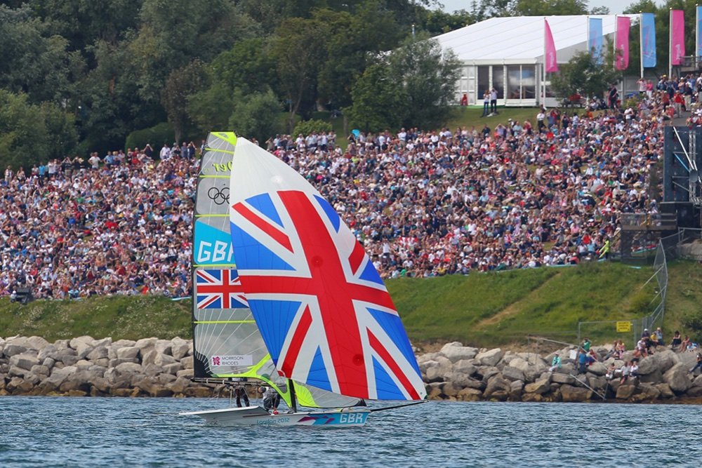 watching Olympic Sailing