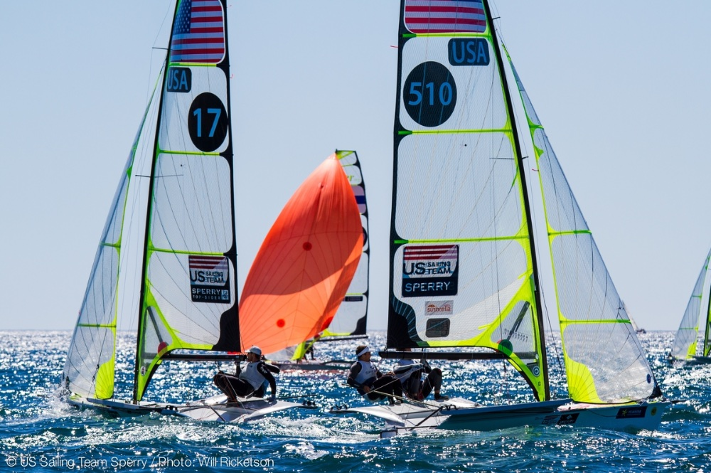 Watching Olympic Sailing: wind angles