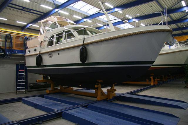 Linssen factory boat in guild