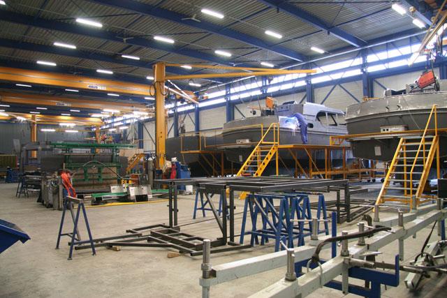 Linssen factory