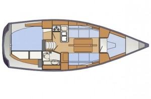 Delphia 31 below decks