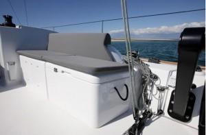 Dufour 36 removable cockpit boxes