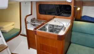 J/111 below decks