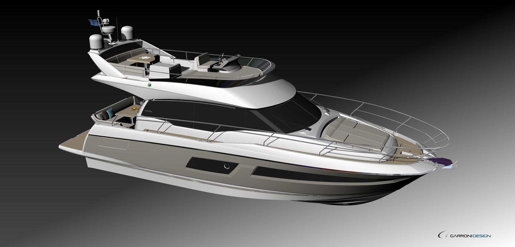 Prestige's new 460 will be unveiled in Cannes this September.