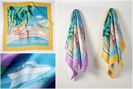 Princess  Thomas Pink scarf