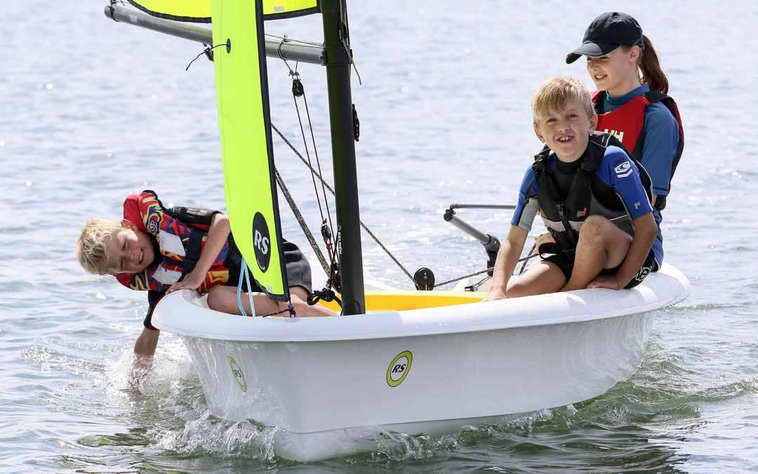 RS Zest dinghy
