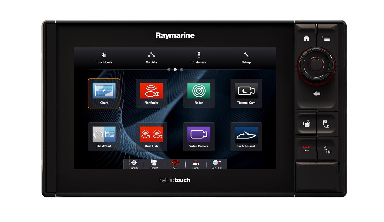 Raymarine eS series: hybrid touch