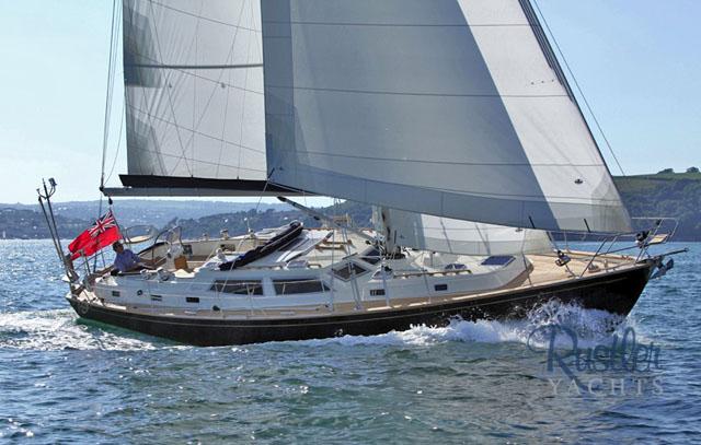 Rustler 44 – ocean cruising for royalty
