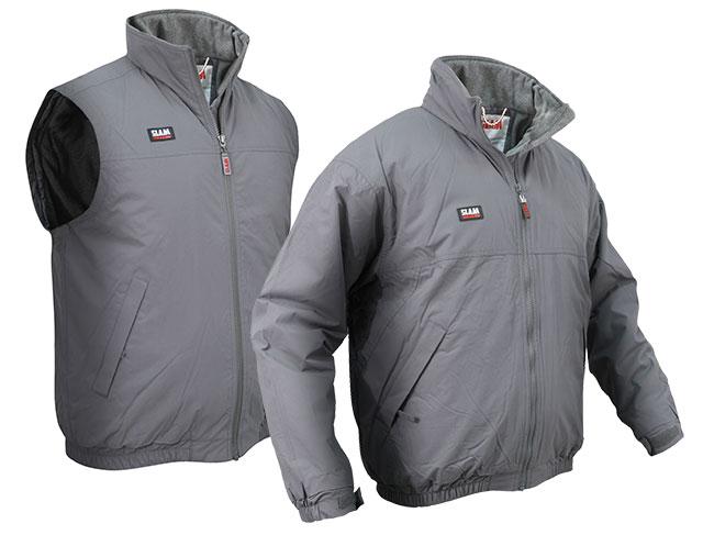Slam gilet and winter jacket