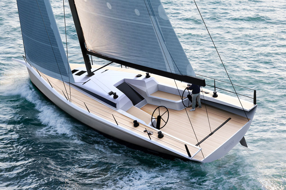 Convertible class – Club Swan 50 review