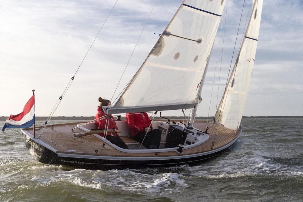 Saffier 6.50 Cruise under sail