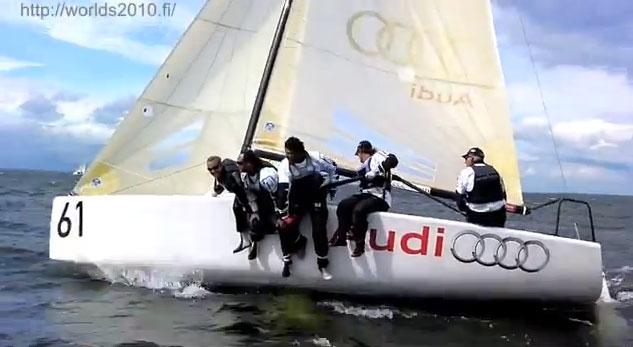 The popular Melges 24 sportsboat