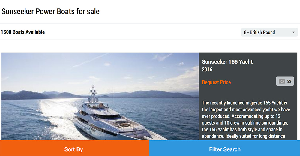 Sell my boat: online classifieds